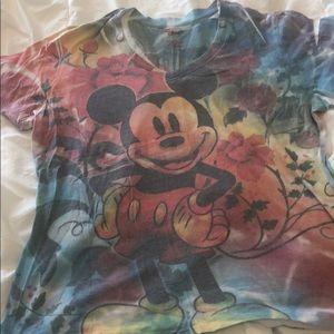 Rainbow Disney Mickey Shirt